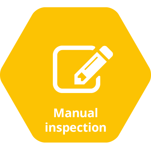 WATS features, the manual inspection module