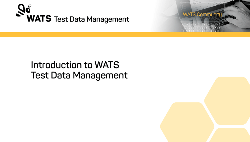 Introduction to WATS